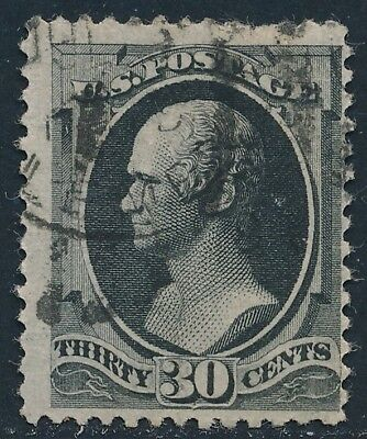 Dr Jim Stamps Us Scott 190 30C Hamilton Used No Reserve Free Shipping