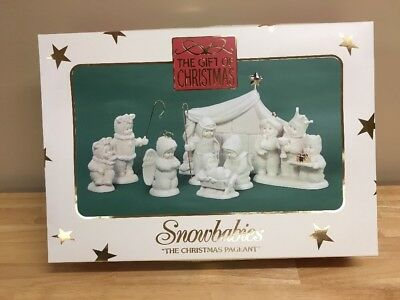 Snowbabies The Christmas Pageant Nativity Scene