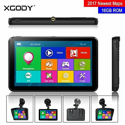"XGODY 884 7"" Car Truck GPS Navigation Unit Sat Nav 16GB Free Lifetime AU Maps"