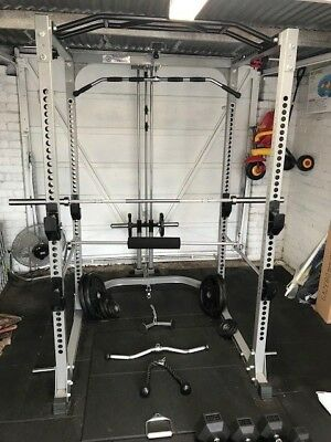 Revolution Fitness Gym Power Rack + weights and accessories