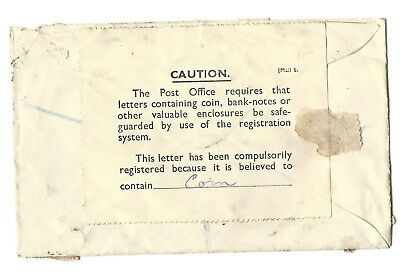 New Zealand Postage Due Registered  Nelson  envelope cover