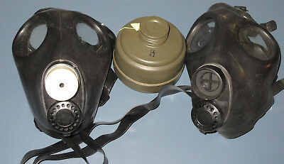 NEW! Israeli Gas Mask w/ Genuine Military Sealed NATO Filter With Extra Mask