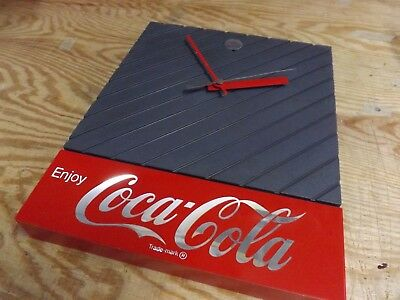 1987 Coca Cola Wall Clock, Battery Operated
