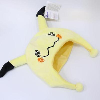 Japanese Anime Pokemon Mimikyu Plush Hat Cosplay Cartoon Warm Cap