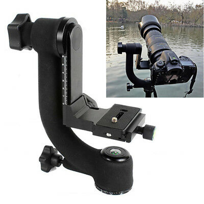 Gimbal Tripod Ball Head Pro Panoramic 360° Swivel For Camera Telephoto Lens