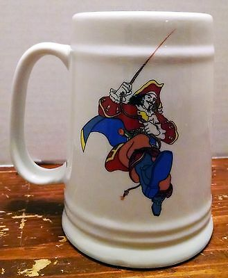 CAPTAIN MORGAN STEIN CUP MUG Pirate Alcohol Rum Beer drinking advertising