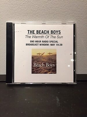 The Beach Boys – The Warmth Of The Sun Radio Special/Promotional CD