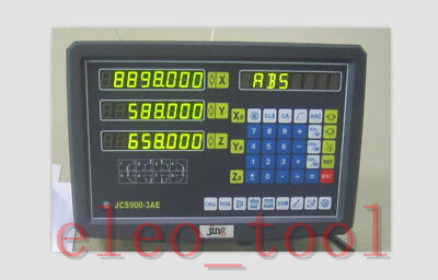 3  Axis DRO digital readout for milling lathe machine