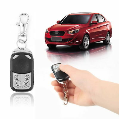 Universal 433mhz Electric Cloning Gate Garage Door Remote Control Fob Key Fob #S