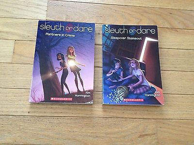 Sleuth Or Dare Little Girls Chapter Books - Lot of 2 Paperbacks