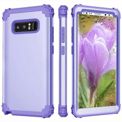 Shockproof Silicone+PC Full Body Protect Cover Case for Samsung Galaxy Note 8