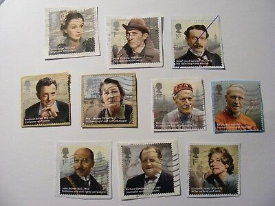 Set of Great Britons 2013 on paper (lot 1244)