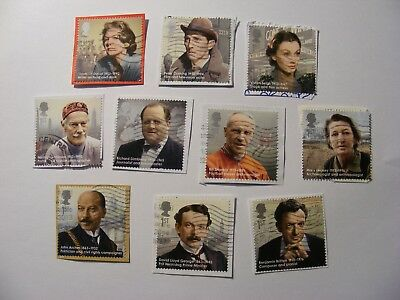 Set of Great Britons 2013 on paper (lot 1246)