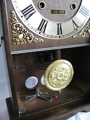 Vtg Centarion 35 Clock /wind-Up / Chime Work Every Hour And Half / Perfect Work.