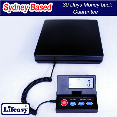 50KG Low Profile Digital Postal Shipping Warehouse Office Tabletop bencht Scale