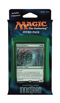 60-Card Horrific Visions Shadows over Innistrad intro Pack Deck | 2 booster MTG
