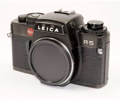 Leica R5  -Made In Germany- Full Working + Leica R5 Instruction Manual Original