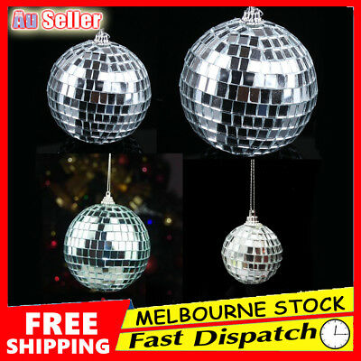 Disco Mirror Ball Reflective Glass DJ Dance Event Party Club Stage Lighting