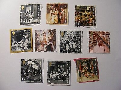 Set of Coronation 50th 2003 on paper (lot 1274)