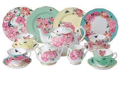 NEW AUTHENTIC Miranda Kerr for Royal Albert 15 Piece Tea set - AMAZING Quality