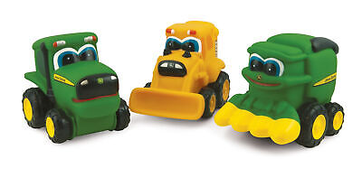 John Deere Toy Johnny Tractor Soft Small Vehicle (37666) (Pn:  37666)