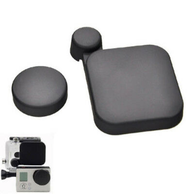 Camera Lens Cap Cover+Housing Case Protector for Gopro HD Hero 3 Accessory New~