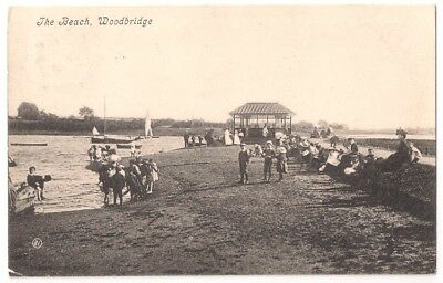 THE BEACH, WOODBRIDGE, SUFFOLK pu1907