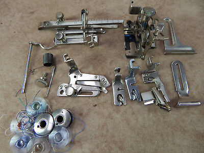 Vintage Singer Sewing Machine Attachments -(3)