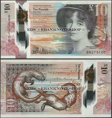 Scotland,PNew,10 Pounds,2017,Royal Bank of Scotland,UNC,Polymer @ Ebanknoteshop