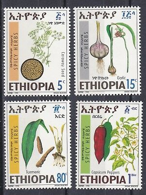 Ethiopia: 1993: Spicy Herbs,  MNH