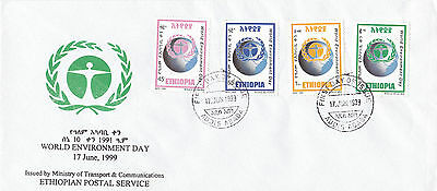 Ethiopia: 1999: World Environment Day,  FDC