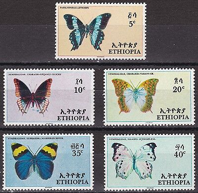 Ethiopia: 1967 Butterflies, Unmounted mint
