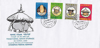 Ethiopia: 2002: Traditional Grain Storage, FDC