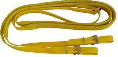 """Race/GP/Eventing Reins Buckle End  5/8"""" In Vibrant Colours ~ Australian Made"""