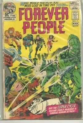 Forever People #7 DC (1972) Jack Kirby Art comic book FN+/VF-