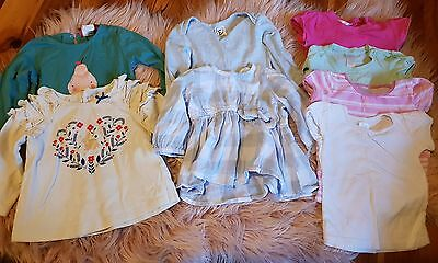 Girls size 0 shirt bundle: fox and finch, sprout, pumpkin patch