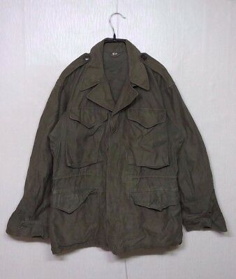 RARE 1940'S WW2 Vintage US Army USMC M-43 Field Jacket US Military Clothes