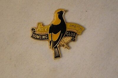Collectable - Vintage - New Lambton Bowling Club - Members Badge