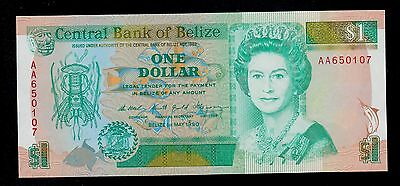 Belize   1  Dollar  1990   Aa   Pick # 51  Unc.