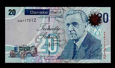 Northern Ireland Danske Bank 20 Pounds  2012  Pick New  Unc.