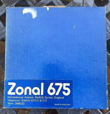 Zonal 675 1/4 in tapes x 40, 7 Inch reels, boxed. Ex ITV archive . Boxes vary.