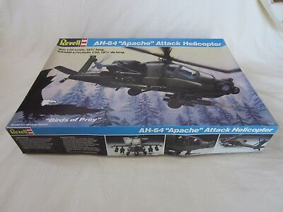 Revell 1/32 Big Scale AH-64 APACHE Attack Helicopter Plastic Model Kit
