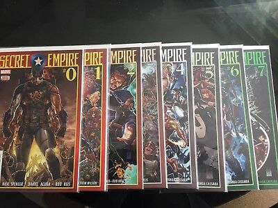 Marvel Secret Empire Issue 0-7