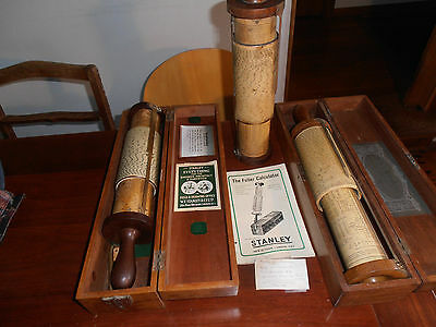 Calculator Surveying equipment  Stanley Fullers, first patented 1878