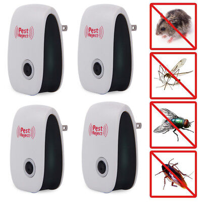Ultrasonic Pest Reject Electronic Pest Repeller Mosquito Insect Killer