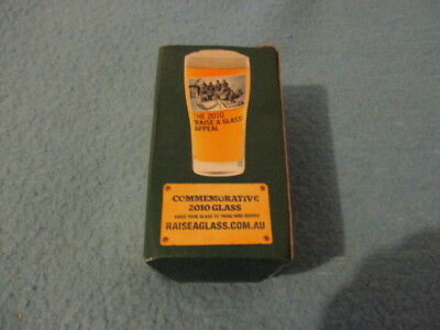 Commemorative Beer Glass - 2010 - Boxed