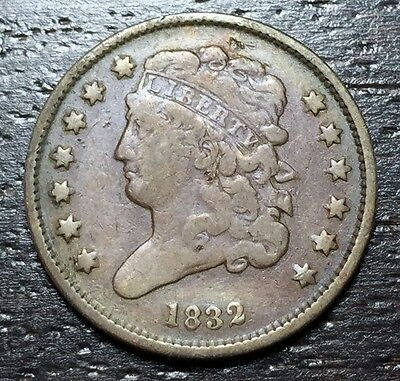1832 Classic Head Half Cent --  MAKE US AN OFFER!  #W3431  ZXCV