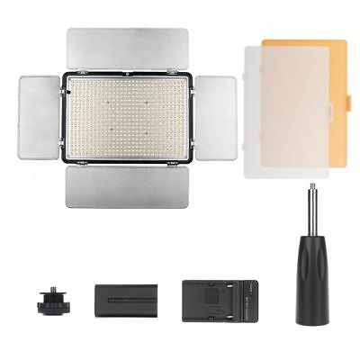 Travor TL-600S LED Video Light Camera Light NP-F550 battery+Charger+2.4G remote