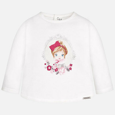 New Mayoral Baby Girl long sleeve tshirt, age 6 months