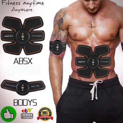 ABS Training Gear Fit Flex Toning Belt Workout Muscle Fitpad ✔FULL SET✔